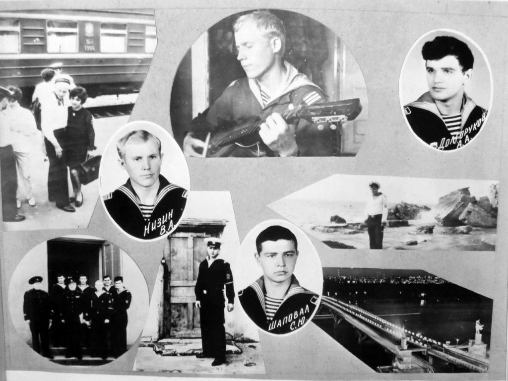 Альбом 2-й роты выпуска 1973 г. лист 3