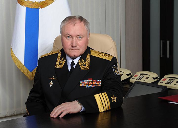 Главнокомандующий Военно-Морским Флотом адмирал В.И.Королёв