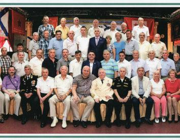 Ветераны 11-й дивизии подводных лодок Северного флота отметили юбилей прославленного соединения