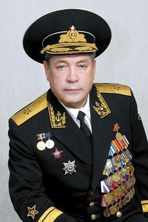 Заместитель командующего Северного флота по воспитательной работе в 1994–2008 гг. контр-адмирал Дьяконов А.Г. (1973)