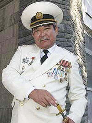 Вице-президент общественного объединения «Союз военнослужащих запаса Республики Казахстан» капитан 1 ранга Жампиисов К.О. (1975)