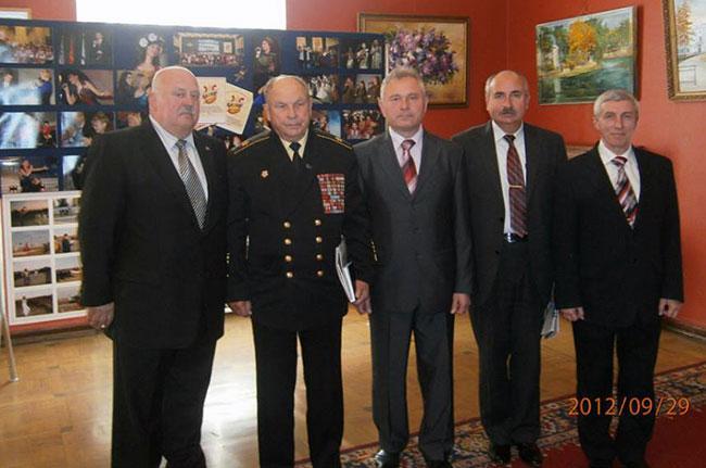 Встреча КВУМПАРЕЙ в ЦДСА с адмиралом флота Сорокиным Алексеем Ивановичем.