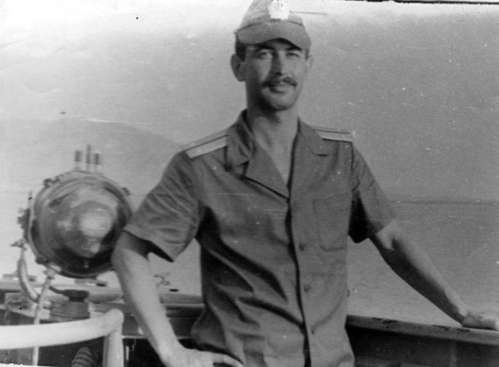На боевой службе, в Южно-Китайском море