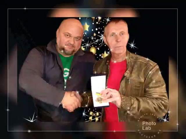 Вручение почётной грамоты Сорокину В.Д. Киев.