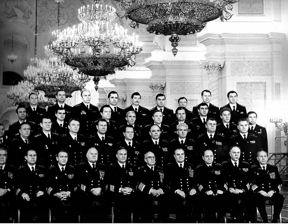 Делегаты 27-го съезда КПСС, февраль-март 1986 г.