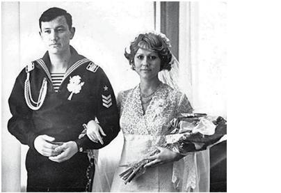 Валерий Марданов с женой Диной