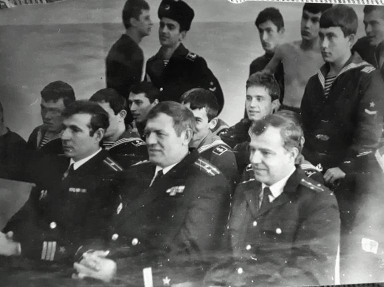 Командир 3-й роты Гусев Ю.В., комбат Смирнов Ю.О., командир 1-й роты Коватев В.И.