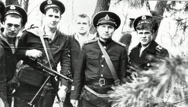 Командир 2-й роты Панов В.Г.