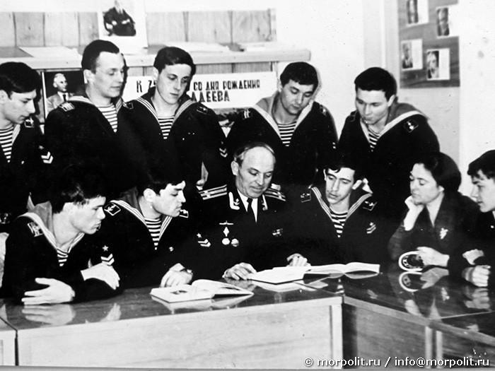 Заседание литературного объединения «Меридианы мужества».