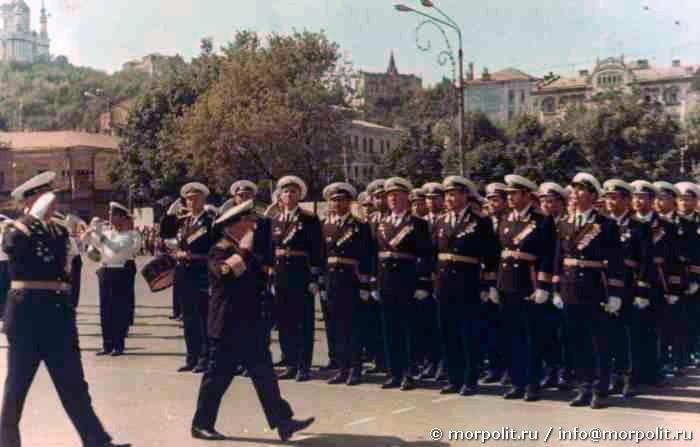 Главнокомандующий ВМФ СССР Адмирал Флота Советского Союза Горшков С.Г.