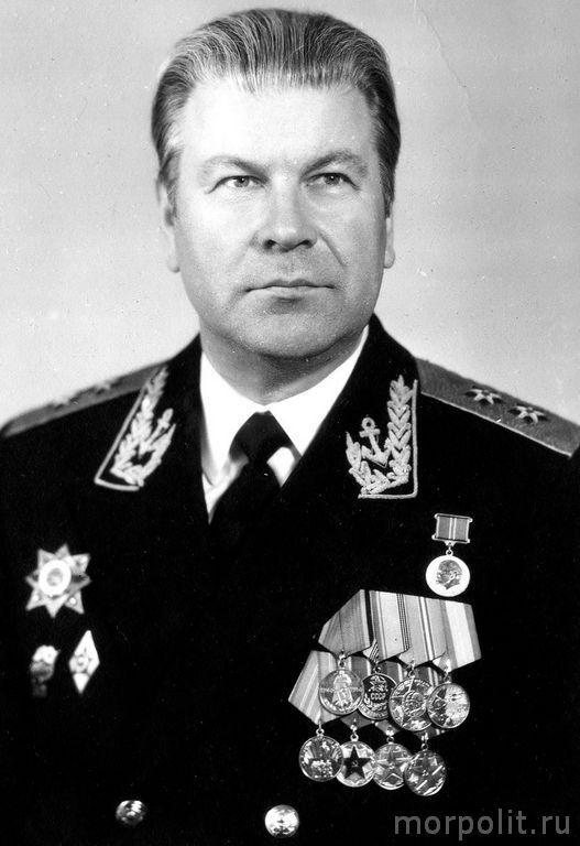 Вице-адмирал Некрасов В.П.